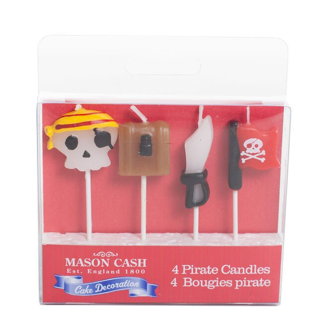 Mason Cash 4 Piece Pirate Candles
