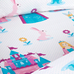 PRINCESS WONDERLAND Junior Bed Fitted Sheet