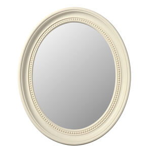 Oval Cream Mirror