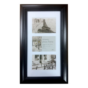 Simply Black Photo Frame Trio 4x6""