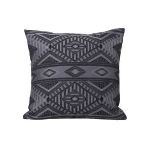 Tribal Cushion 45 x 45cm - Charcoal