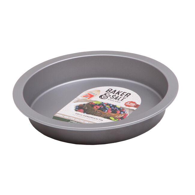 Baker & Salt Silver 20.5cm Sandwich Tin
