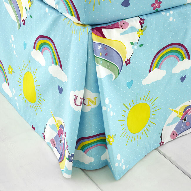 UNICORN MAGIC Double Platform Valance