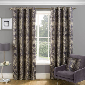 NIGHTGLOW NAVY 66x54 Curtain