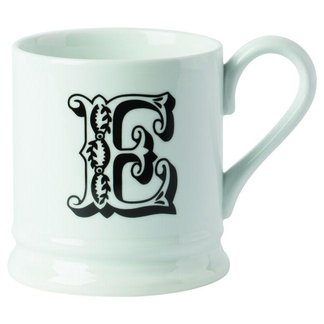 E Cosy Porcelain Mug
