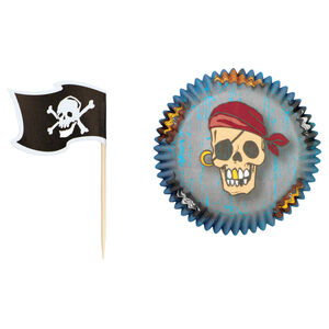 Wilton Pirates Cake Case and Topper Set