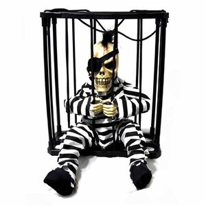 Hanging Talking Prisoner in Cage