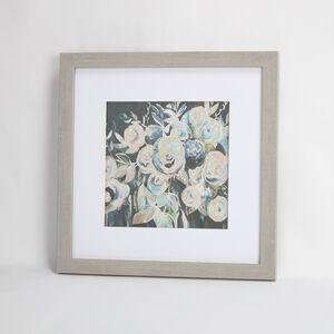 Language of Flowers Framed Print 55x55cm