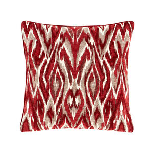 Rhea Cushion 45 x 45cm - Red