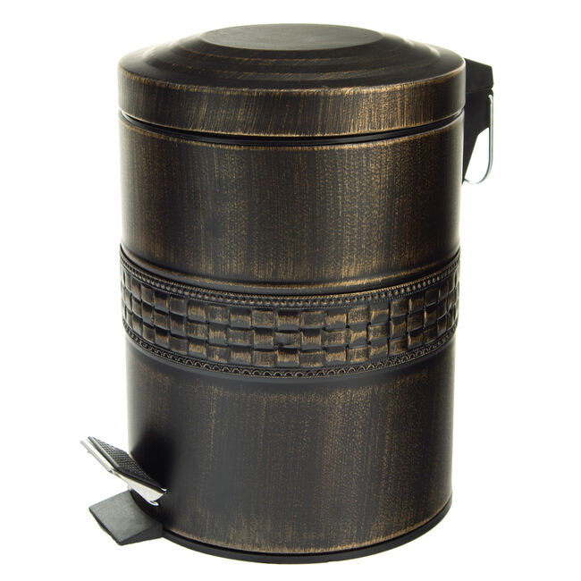 Mosaic Stainless Steel Pedal Bin 5L