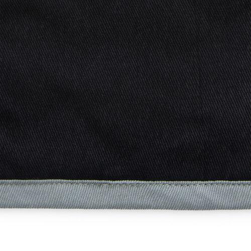 Two Tone Single Oven Glove - Black/Grey