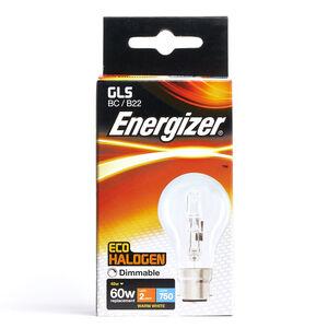 Eco Clear GLS BC (B22) 1 Halogen Bulbs 48W