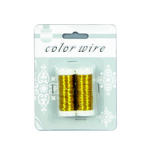 Coloured Decorative Wire Pack of 2