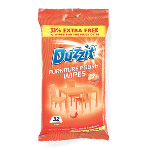Duzzit Furniture Polish 32 Wipes