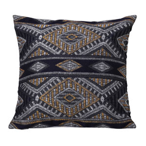 Tribal Cushion 58 x 58cm - Navy