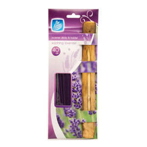 Pan Aroma Incense Sticks&Holder Soothing Lavender