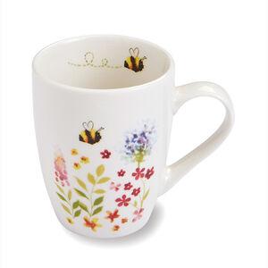 Bee Happy Slim Bullet Mug