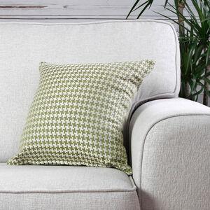 Ruth Geo Green Cushion 45cm x 45cm