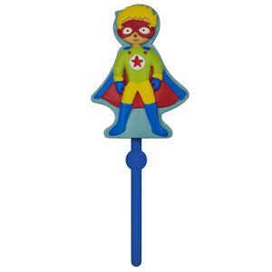 Superheroes Blue/Multi Coat Hook