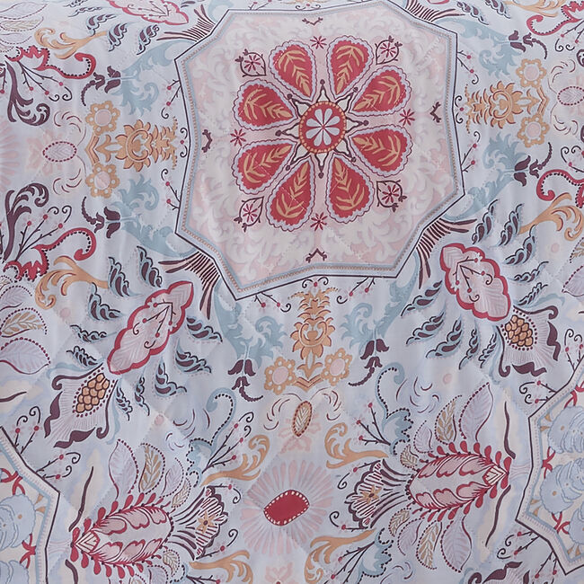 Alannah Bedspread 200x220cm - Pink
