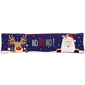 Santa & Reindeer Draught Excluder 22cm x 90cm