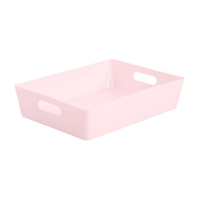 Studio Rectangular Basket 6L - Pink