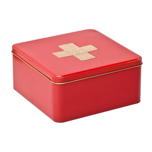 Storage First Aid Metal Tin