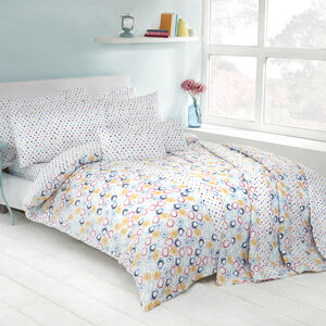 Retro Swirl Duvet Cover