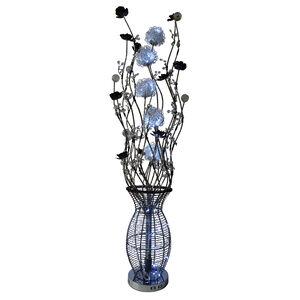 Decorative Bright White LED Vase Floor Lamp