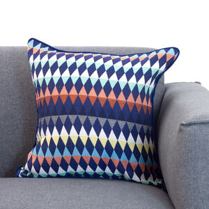 Tribe Diamond Cushion 45x45cm - Multi