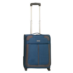 Cabin Size Teal/Grey Lightweight Suitcase