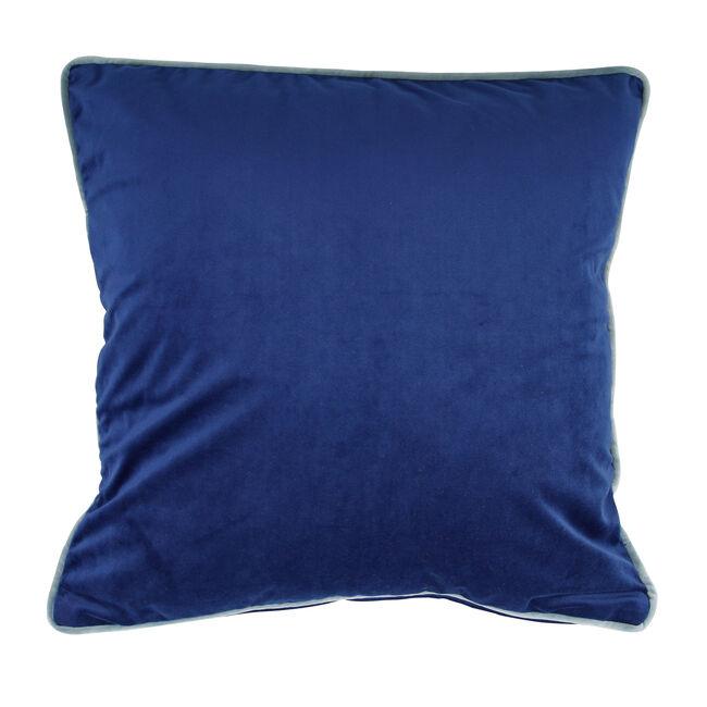 Naomi Navy Cushion 58cm x 58cm