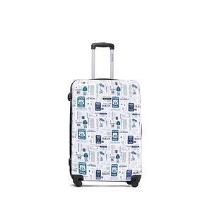 Large Cali Coast Printed Hardshell Luggage