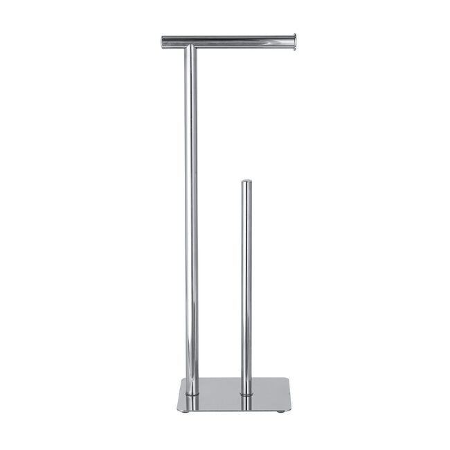 Freestanding Toilet Roll & Spare Paper Holder