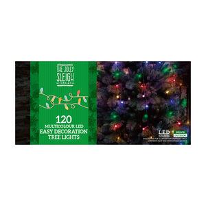 120 Multicolour LED Easy Decoration Tree Lights