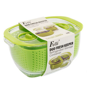 Felli Duo Fresh Keeper Storage Container 6""