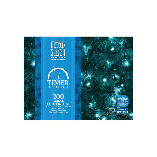 200 Ice Blue Multi Functional Outdoor Lights