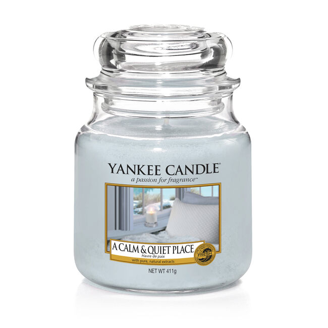 Yankee Candle A Calm and Quiet Place Medium Jar