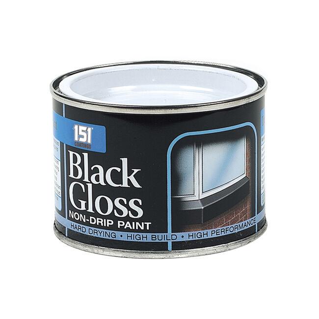 Non-Drip Black Gloss Paint