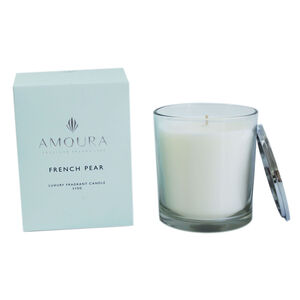 Amoura French Pear Scented Candle