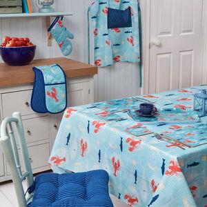 Lobster PVC Table Cloth 160x230cm