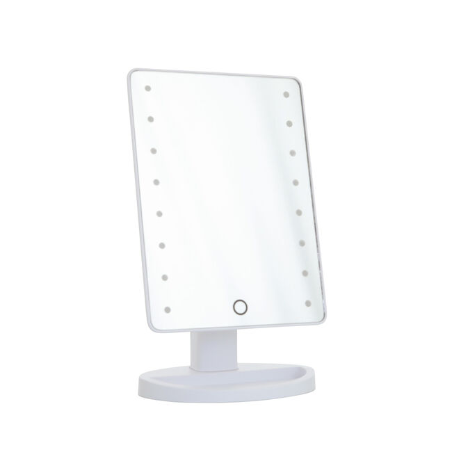 LED Smart Touch White Lightning Mirror with USB
