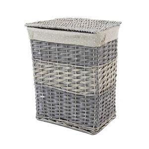 Rectangular Wicker Medium Laundry Basket