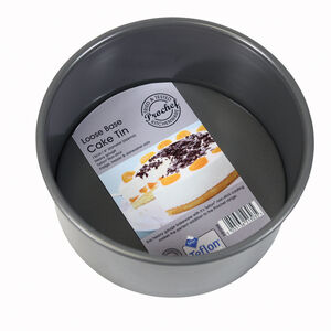 "Heavy Duty 6"" Round Deep Cake Pan"