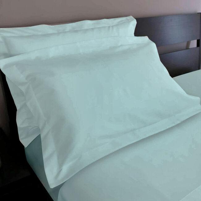 200TC Cotton Oxford Pillowcase Pair - Duck Egg
