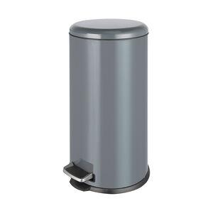 Forma 30L Grey Pedal Bin