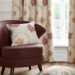 Tulip Cushion Red 45cm x 45cm