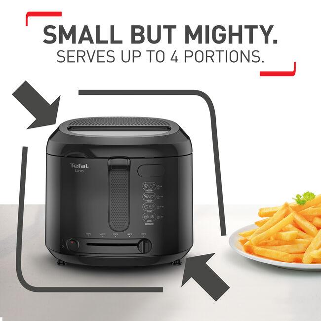 Tefal Uno 1Kg Black Deep Fryer