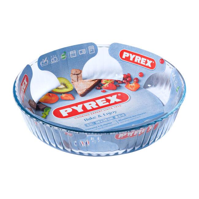 Pyrex Classic Deep Fluted Flan Dish 26cm
