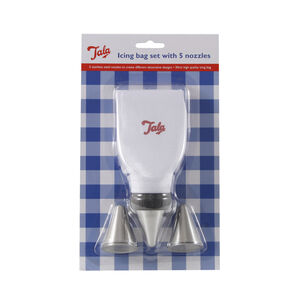 Tala Icing Bag Set with 5 Nozzles